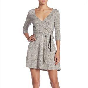 BeBop Soft Sweater Wrap Dress Sz L NWT